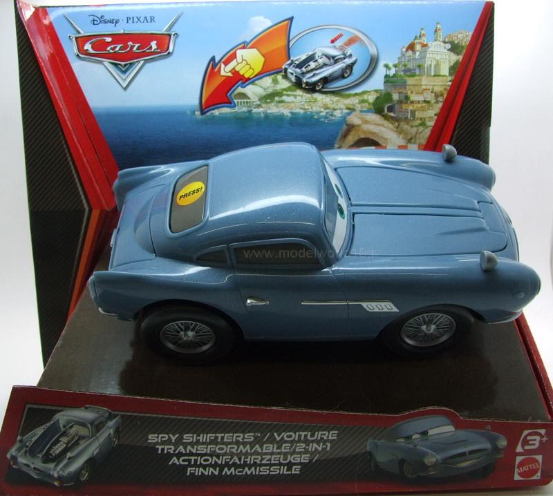 Finn Mcmissile Cars 2: MATTEL CARS 2 FINN McMISSILE VETTURA SPIA V3011